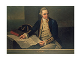 Portrait of Captain Cook, C.1800 Giclee Print by Nathaniel Dance Holland