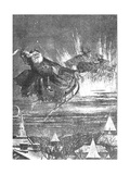 A Visit from St. Nicholas, 1860s Giclee Print by Thomas Nast