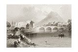 Ballina, County Mayo, from 'scenery and Antiquities of Ireland' by George Virtue, 1860s Giclee Print by William Henry Bartlett