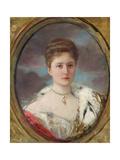 Portrait of Tsarina Alexandra (1872-1918), 1898 Giclee Print by Henri Gervex