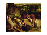The Irish Vagrants, C.1853-54 Giclee Print by Walter Howell Deverell