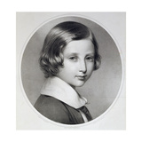 Albert, Prince of Wales (1841-1910), Original Engraved by Thomas Fairland, Published by M. and N.… Giclee Print by Franz Xaver Winterhalter