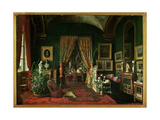 Empress Eugenie in the Salon at the Tuileries Giclee Print by Giuseppe Castiglione