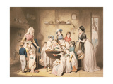 The Sailor's Orphans, or the Young Ladies's Subscription, Engraved by William Ward (1766-1826),… Giclee Print by William Redmore Bigg