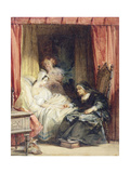 The Use of Tears, 1827 Giclee Print by Richard Parkes Bonington