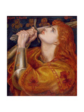 Joan of Arc, 1882 Giclee Print by Dante Gabriel Rossetti