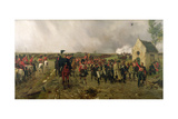Wellington's March from Quatre Bras to Waterloo, 1878 Giclée-tryk af Ernest Crofts