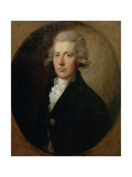 Portrait of William Pitt the Younger (1759-1806), C.1787 Giclee Print by Thomas Gainsborough