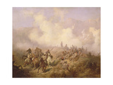 A Scene from the Russian-Turkish War in 1877-78, C.1870-80 Giclee Print by Aleksei Danilovich Kivshenko