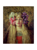 The Blonde Woman Giclee Print by Leon Francois Comerre