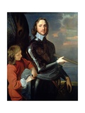 Portrait of Oliver Cromwell (1599-1658), C.1649 Giclee Print by Robert Walker