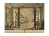 The Picture Gallery in the Stroganov Palace in St. Petersburg, 1793 Giclee Print by Andrei Nikiforovich Voronikhin