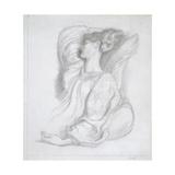 Study of Mrs William Morris (1839-1914), C.1873 Giclee Print by Dante Charles Gabriel Rossetti