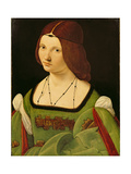 Portrait of a Lady (Before Cleaning) Giclee Print by Giovanni Antonio Boltraffio