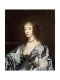Queen Henrietta Maria (1609-69) Giclee Print by Sir Anthony Van Dyck