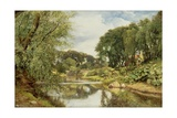 The Water of Leith, 1853 Giclee Print by Horatio Mcculloch