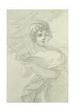 Self Portrait, C.1800 Reproduction procédé giclée par Elisabeth Louise Vigee-LeBrun