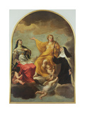 The Three Marys, 1633 Giclee Print by Andrea Sacchi
