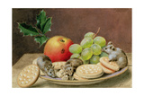 A Christmas Feast for Mice Giclee Print by John Sherrin