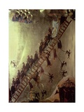'The Ladder of John Klimakos' Icon, 12th Century Giclee Print