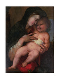Madonna and Child, C.1517 Giclee Print by Alonso Berruguete