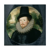 Portrait of a Man in a Hat Giclee Print by Marten van Valckenborch