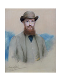 Portrait of George Bernard Shaw (1856-1950) as a Young Man Giclee Print by Louise, nee Goode Jopling
