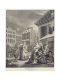 Times of the Day: Morning Giclee Print by William Hogarth