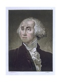 Portrait of George Washington, from 'Le Costume Ancien Et Moderne' by Jules Ferrario, C.1820 Giclee Print by Gallo Gallina