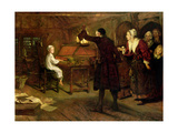 The Child Händel, Discovered by His Parents, 1893 Giclee Print by Margaret Isabel Dicksee