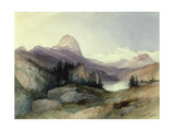 In the Bighorn Mountains, 1889 Giclee Print by Thomas Moran