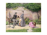 Rochester and Jane Eyre Giclee Print by Frederick Walker
