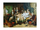The Last Hours of Mozart (1756-91) Giclee Print by Henry Nelson O'Neil