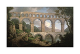 Pont Du Gard, Nimes Giclee Print by William Marlow