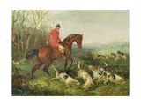 Foxhunting: at Cover Giclee Print by William Joseph Shayer