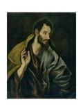 The Apostle Thomas Giclee Print by  El Greco