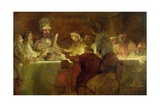 The Conspiracy of the Batavians under Claudius Civilis, C.1666 Giclee Print by  Rembrandt van Rijn