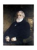 Portrait of Ivan Sergeevich Turgenev (1818-83) Giclee Print by Ilya Efimovich Repin