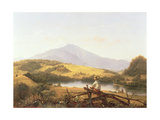 Mount Mansfield, Vermont, 1861 Giclee Print by Jerome Thompson