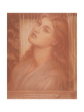 Study for 'La Pia De' Tolomei' Giclee Print by Dante Gabriel Rossetti