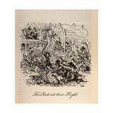 'The Riots at their Height', from 'Barnaby Rudge' by Charles Dickens (1812-70) Giclee Print by Hablot Knight Browne