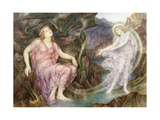 The Passing of the Soul at Death Giclee Print by Evelyn De Morgan