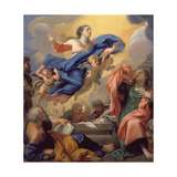 The Assumption of the Virgin Giclee Print by Guillaume Courtois