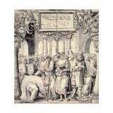 The Woman Taken in Adultery, 1527 Giclee Print by Niklaus Manuel
