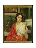 The False God Giclee Print by William Clarke Wontner