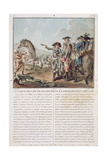 Attack on the Trenches Established in Front of Denain, 1712, Engraved by Louis Le Coeur… Giclee Print by Antoine Louis Francois Sergent-marceau
