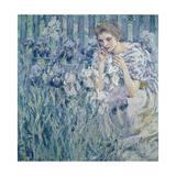 Fleur De Lys, C.1895-1900 Giclee Print by Robert Reid