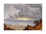 View from Shanklin, Isle of Wight, C.1827 Giclee Print by John Glover