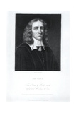 Portrait of Johan De Witt (1625-72), Engraved by Edward Scriven (1775-1841) Giclee Print by Caspar Netscher