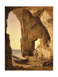 Cave in Sorrento, 1826 Giclee Print by Silvestr Fedosievich Shchedrin